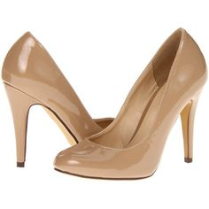 Michael Antonio Lydia High Heels, Beige ($15) ❤ liked on Polyvore