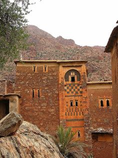 Ancient Berber house, Ameln Valley, Morocco by tenthgift