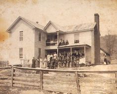 This image was made circa. Courtesy of the Grayson County Historical Society, Independence, Virginia. Home History, Family History, Southern Plantation Homes, Family Tree Research, Colonial, Vintage Artwork, Vintage Photos, New River, Mystery Of History