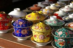 chinese tea cups - so collectable