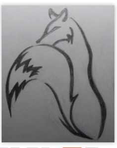 Fox tattoo tribal, I am probably going to get one like this