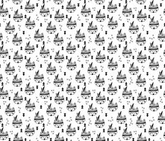 Cool geometric scandinavian style indian summer animals fox black and white - fabric, textiles and wallpaper design by Little Smilemakers Studio at Spoonflower Indian Animals, Black And White Fabric, Indian Summer, Scandinavian Style, Designer Wallpaper, Custom Fabric, Spoonflower, Boxer, Craft Projects