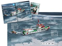 0082 Ocean – Sea Rescue - 3d info graphic # infographic