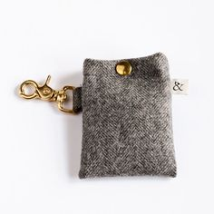 Doggy Poop Bags Holder (also in soft pink and beige)