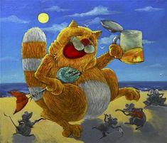 Anton Gorcevich painting