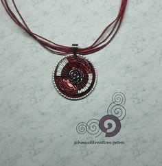 Colliers - Ausgefallenes Collier aus Nespressokapseln - ein Designerstück von schmuckkreation-petra bei DaWanda