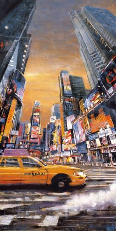 Times Square Perspective I Print by Matthew Daniels at Art.com New York City NYC