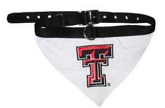 Texas Tech Bandana Large