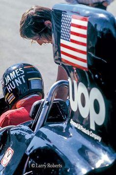 James Hunt F1
