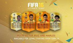 FIFA 16 MOTM Victor Ruiz and Marlos for FUT