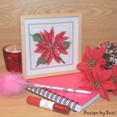Design by Suzi: ❁ Vianočná ruža (Projekt ❁ Poinsettia, Tableware, Projects, Pictures, Gifts, Design, Log Projects, Photos, Dinnerware