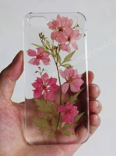 iPhone 6 case,Pressed flower phone case