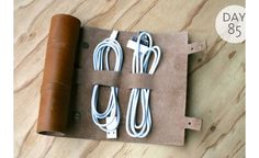 Organization Tip of the Day: Get Your Cords in Order | The Nest Blog – Home Décor, Cooking, Money, Health & Sex News & Advice