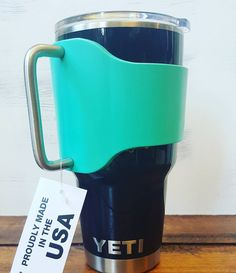 Grapplr for a 30 oz Yeti. The Grapplr is THE must have accessory for your YETI Rambler 30 oz. It provides a solid, secure handle to hold your YETI Rambler. Orders over $30, ship free!
