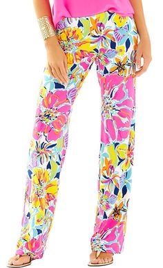 Lilly Pulitzer Georgia May Palazzo Pant in Besame Mucho