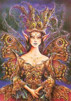 Maxine Gadd art. Fairy fantasy