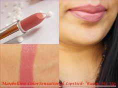 Maybe it's Nude: Maybelline Colorsenational Lipstick Warm Me Up Hello Dolls, Maybelline Colorsensational lipsticks have been here for years now and they we