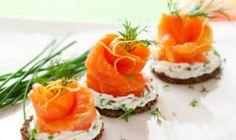 Jednohubky s lososom a avokádom - Báječné recepty