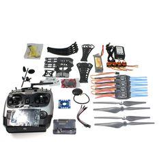 DIY RC Drone Quadrocopter ARF X4M360L Frame Kit with GPS APM 2.8 AT9 TX F14892-C