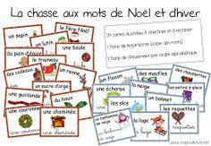 premières séries de cartes pour la chasse aux mots!!