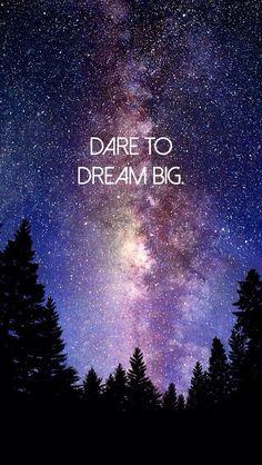 Dream Big Because You Have A BIG GOD!!!