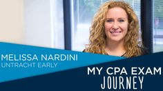 Watch Melissa Nardini of Untracht Early recount her reason for wanting to become a CPA and her study habits as she prepares for the Cpa Exam, Study Habits, How To Become, Journey, Watch, Awesome, Clock, Bracelet Watch, The Journey