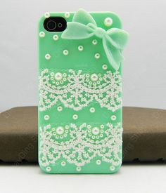 Lace case   gifts  iPhone case iPhone 4 case iPhone by dnnayding, $22.99