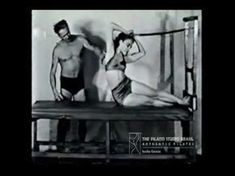 Joseph Pilates Reformer Exercises Technique Original Workouts From Ancient of Pilates (Audio is in a different language) Pilates Workout, Le Pilates, Pilates Training, Pilates Reformer Exercises, Joseph Pilates, Pilates Videos, Workout Videos, Workouts, Yoga Sequences