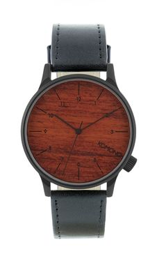 Les montres Winston Black Wood signées Komono bénéficient d'un style inimitable et d'un confort d'utilisation sans faille.Optez dès maintenant pour une montre Winston Black Wood