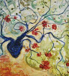 La vasculaire bleue-Acquisition de la Ville de Varennes pour la collection d'oeuvres permanente.