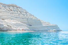 Scala dei Turchi Beach, located in Sicily's Secret South.