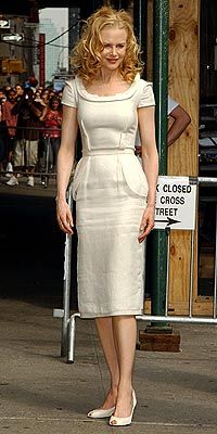 Nicole Kidman in Givenchy Dress,June 2005
