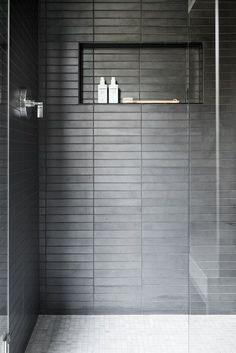Swan Lake House: The Casual Bonus Rooms - interior bath - bathrooms ideas Bad Inspiration, Bathroom Inspiration, Interior Inspiration, Small Bathroom, Master Bathroom, Bathroom Ideas, Lowes Bathroom, Ceramic Tile Bathrooms, Bathroom Gray