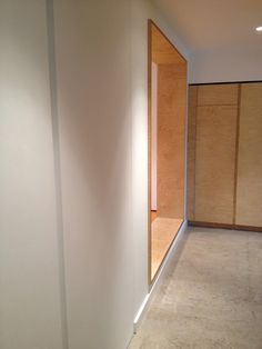 Polished concrete floor with Birch plywood doors Furniture, House, Home, Plywood House, Plywood Furniture, Concrete Floors, Flooring, Polished Concrete, Furniture Design