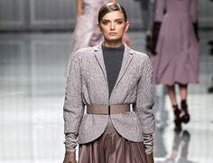Otoño engominado según Christian Dior.