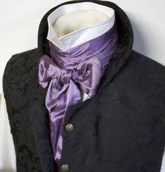 extra-long-regency-victorian-style-ascot-tie-cravat-plum-purple-dupioni-silk-3-inch-width-3.gif 1,229×1,280 pixels