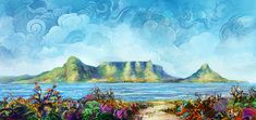Table Mountain - Corel Discovery Center Table Mountain, Mountain Paintings, Discovery, Art, Art Background, Kunst, Performing Arts, Art Education Resources, Artworks