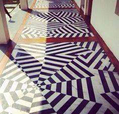 3+. Пример решения пола коридора.