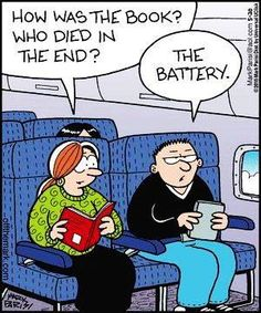 Mystery Fanfare: Cartoon of the Day: Book Endings
