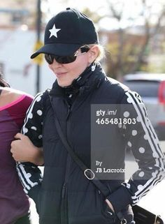 Madonna wears a Gents Lone Star Cap out in LA.  #gents #madonna #lonestarcap
