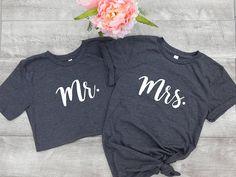 Mr and Mrs Shirts, Hubby Wifey Shirts, Honeymoon Shirts, Newlyweds, Couples Shirts, Bride shirt,Groom shirt, Wedding Gift, Personalized Gift #mrs #mr #wedding #matchingshirts #blackshirt #giftideas #gift #tshirt #honeymoon #mrandmrs #weddingday #weddingideas #bestdayever #affiliate