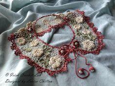 Outstanding Crochet: Crochet Patterns to Buy. Irish Crochet Vintage Collar from IrishCrochetLab. Great findings.