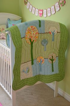 1000 Images About Woodland Theme Baby Quilt On Pinterest