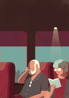 Day Trippers on Behance by Davide Bonazzi
