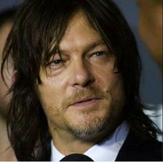 Norman Reedus at the fan premier of The Walking Dead at Madison Square Garden. 10/9/2015