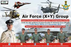 Do you want to Crack an ‪#‎AirForce‬ (X - Y) Group Exam ??? Are you worried about the Written Exam ? Dont Worry ‪#‎MKC‬ here's it help You !!! With the help of our Expert Faculty & retired Air Force Officers, work harder and Study better to get the best results in Indian Air Forces. Join our classroom..... Written Exam Batches starting at Major Kalshi Classes on ‪#‎2nd‬ November Hurry Up !!! ADMISSION OPEN  For Admission call on-09696330033, 9936487788 Visit  http://majorkalshiclasses.in