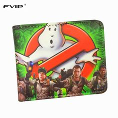 FVIP Wholesale Wallet Ghost Busters /Minions /Despicable Me /Doctor Who /Rolling stone /Inside out /Nintendo Wallets