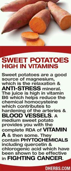 I love sweet potatoes