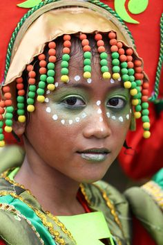 Girl at Kaumahan Festival, Cebu, Philippines