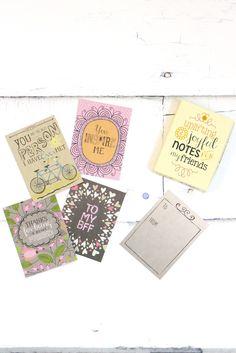 Friendship Notes Cards - The Fair Lady Boutique